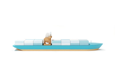 Tanker profil toy boat