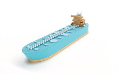 Tanker boat toy