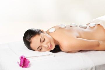 Massaging. Massage