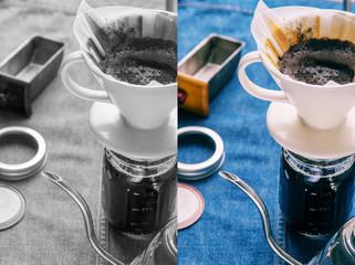 Drip Hot Coffee