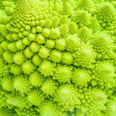 Broccoli close up texture fractal background