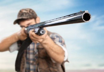 Hunter. Rifle Barrel