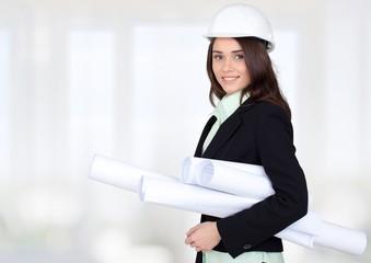 Engineer. Female architect