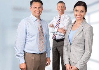 Business Person. Businessteam portrait