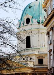 Karlskirche Wien Seitenansicht