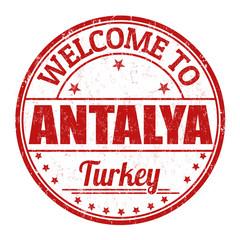 Antalya stamp