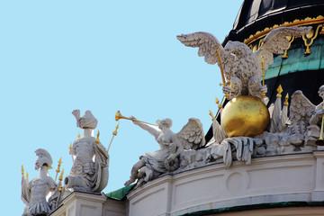 Hofburg Wien Michaelerkuppel