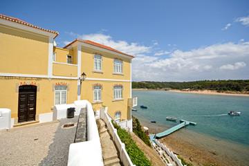 Alentejo: Old town and coast of Vila Nova de Milfontes, Portugal