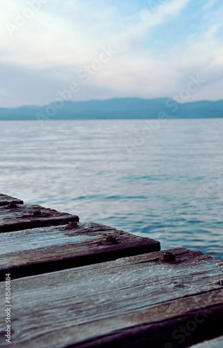 OLd wooden bridge © vividvic