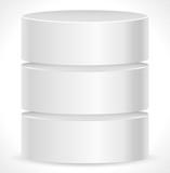 Metal Cylinder. Webhosting, Server, Mainframe Computer Concepts.