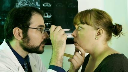Doctor Checkup Eyes