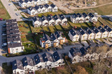 aerial view of wroclaw city suburbs - 81582651