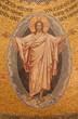 Jerusalem - mosaic of resurrected Christ
