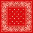 red bandana - 81585402
