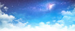 Leinwanddruck Bild - Starscape