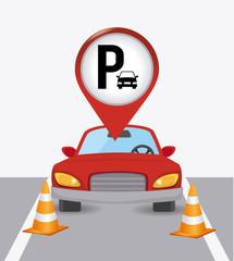 Parking design.