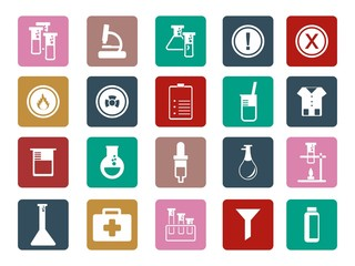 Laboratory Equipment - Icon