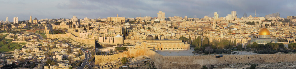 Jerusalem - The Panorama from Mount of Olives