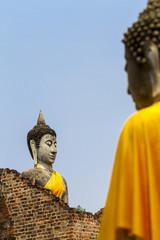 Two apostle buddha