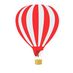 air, balloon, vector, illustration, white background