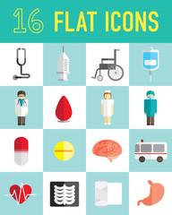 flat icon hospital