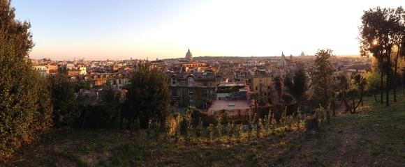 Panoramablick auf Rom