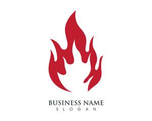 Fire Logo Template 2