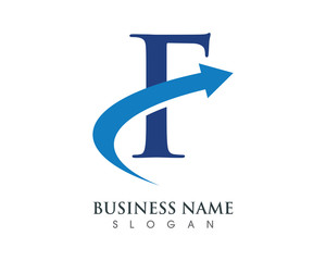 F Logo Template 3