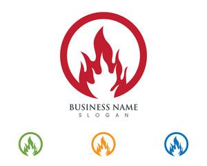 Fire Logo Template 1