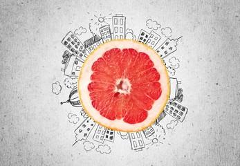 Grapefruit. Grapefruit