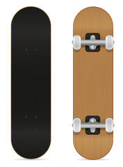 skateboard vector illustration