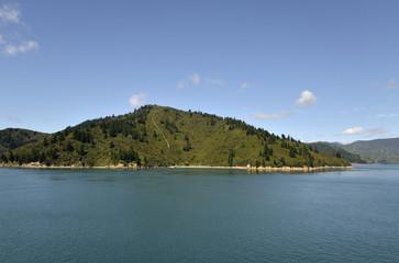 Cook strait landscape.