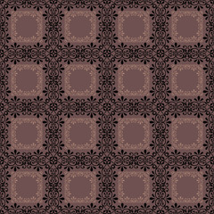 Retro elements background abstract geometric seamless pattern ch