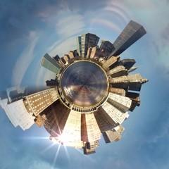 Abstraction de New York