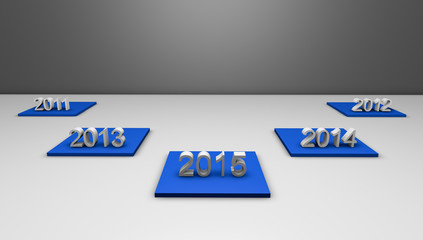 Years 2011 to 2015