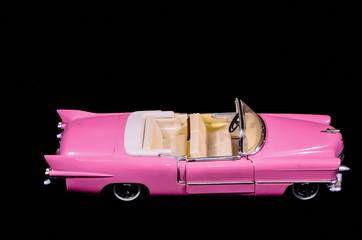 Pink Car Toy Model
