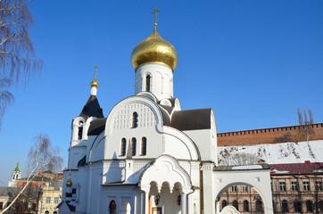 Казанская церковь у Скобы в Нижнем Новгороде