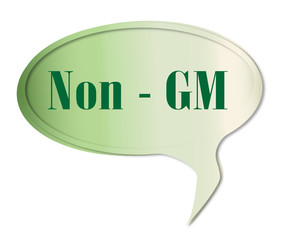 Non GM Speech Bubble