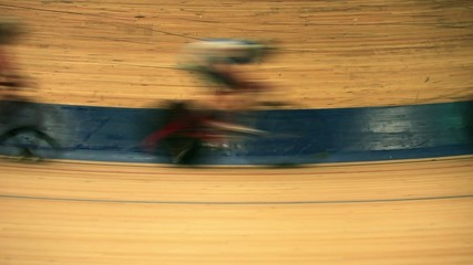 bicycle race motion blur