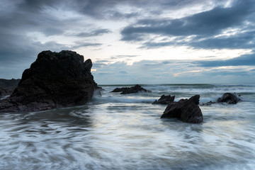 Rocks at Whitsand Bay