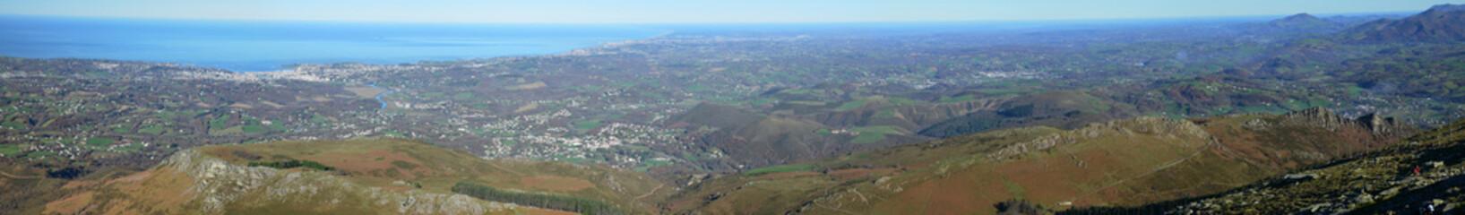 Atlantic coast in the Pays Basque