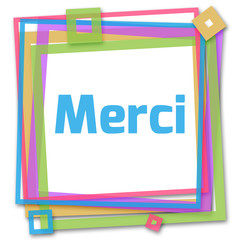 Merci Colorful Frame