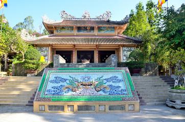 Вьетнам, Нячанг, постройки пагоды Лонгшон