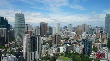 Skyline di Tokyo