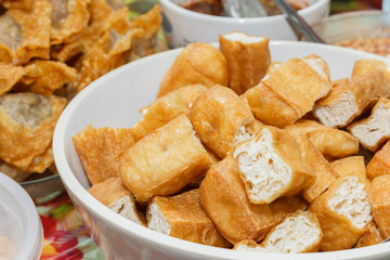 Fried bean curd