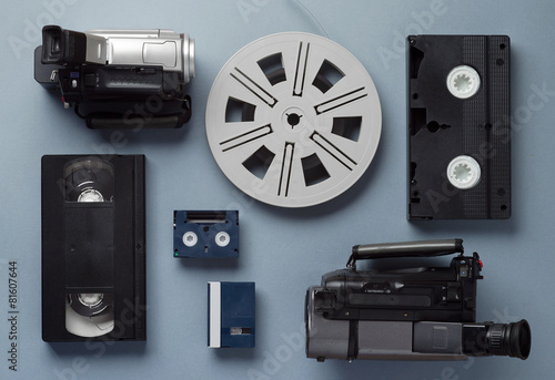 Old video technology - 81607644