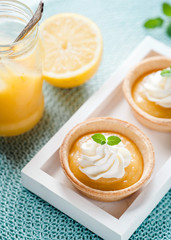 Lemon Curd Tartelettes II