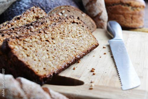 Fotobehang Brood sliced bread