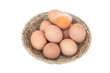Place the eggs in one basket