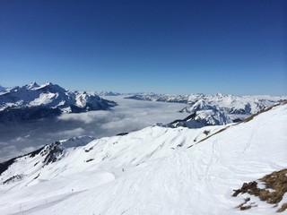 mist in alps
